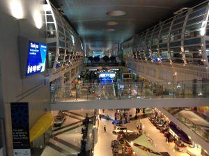 Terminal 2 and Dubai Hotel