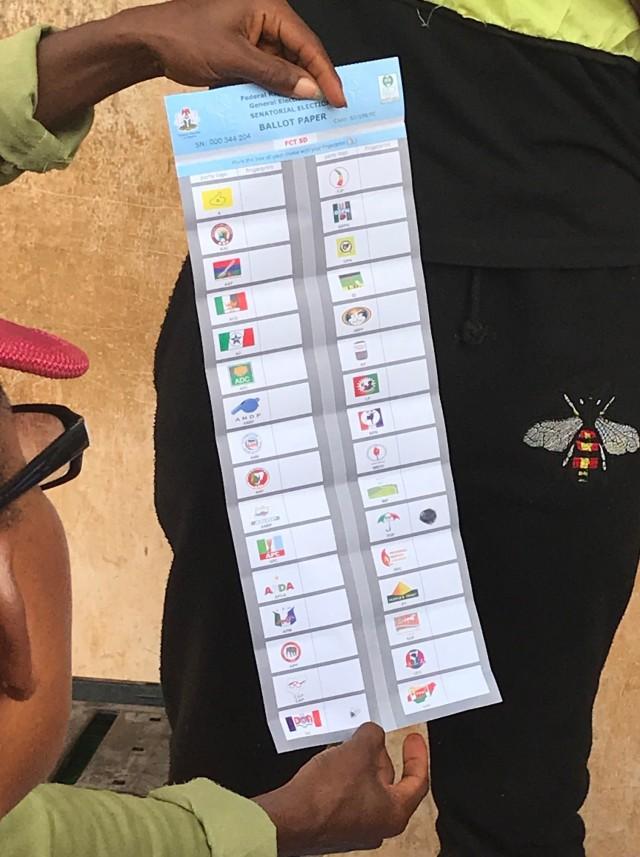 Nigeria Ballot