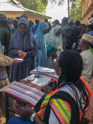 Nigeria Polling Unit