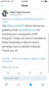 NNPP Bauchi